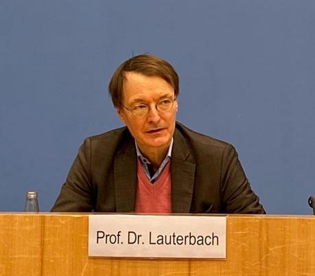 Bundespressekonferenz mit Karl Lauterbach